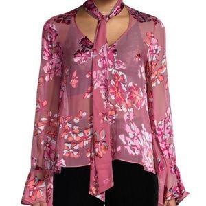 Saloni 6 Lauren Devore blouse